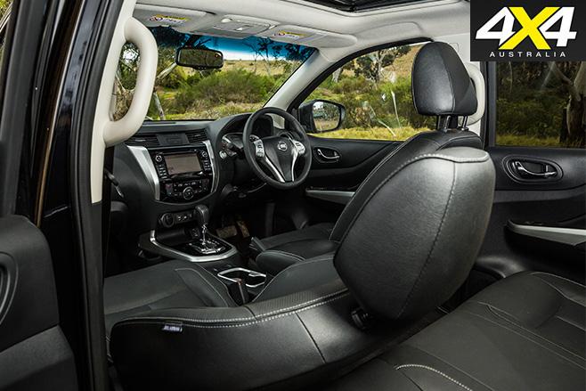 Nissan navara stx interior