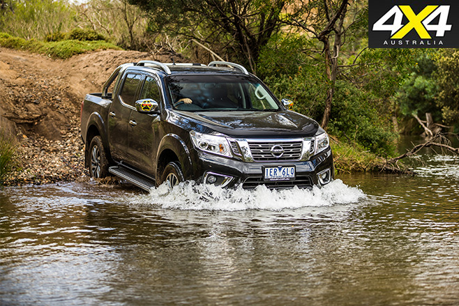 Nissan navara stx water