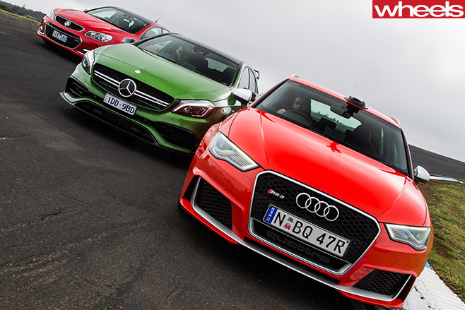 Audi -Mercedes -Commodore -group