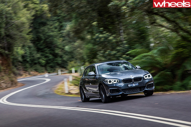 BMW-M135i -driving -front