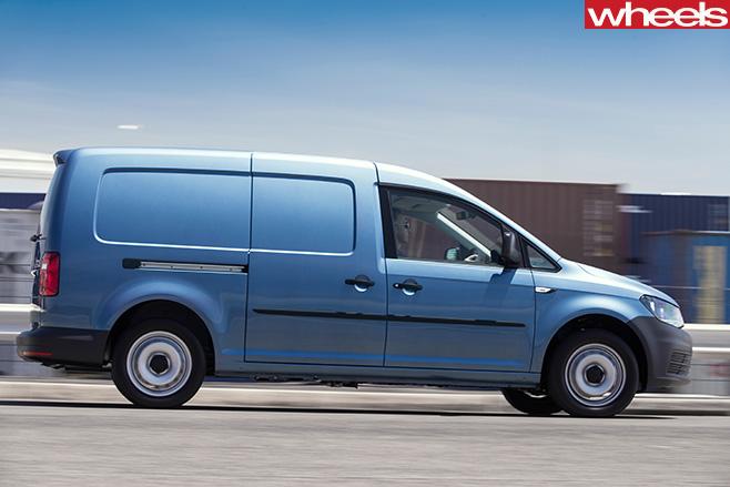VW-Caddy -side