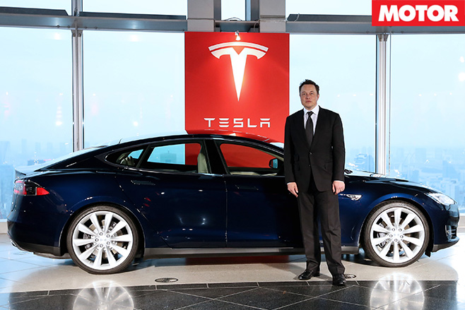 Who is elon musk tesla s
