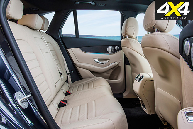 Mercedes -Benz GLC rear seats