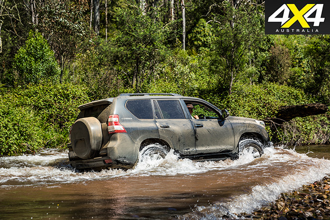 Toyota prado water