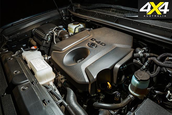 Toyota prado engine