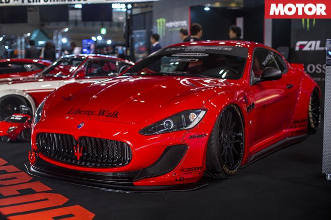 Liberty Walk Maserati Gran Turismo