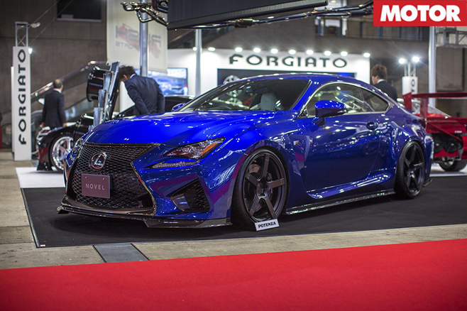Novel Lexus RC F