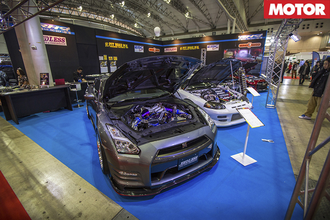Endless-R R35 GT-R and Pit Road M Mitsubishi GTO
