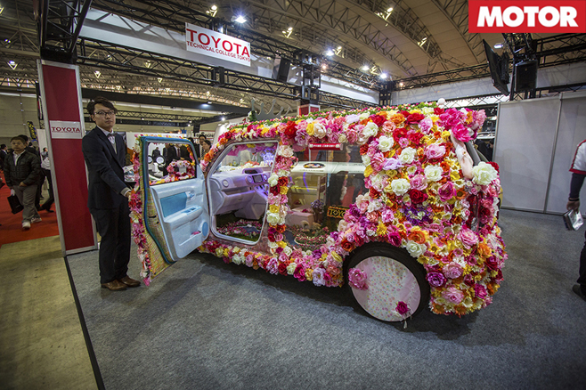 Toyota Technical Centre Flower Van