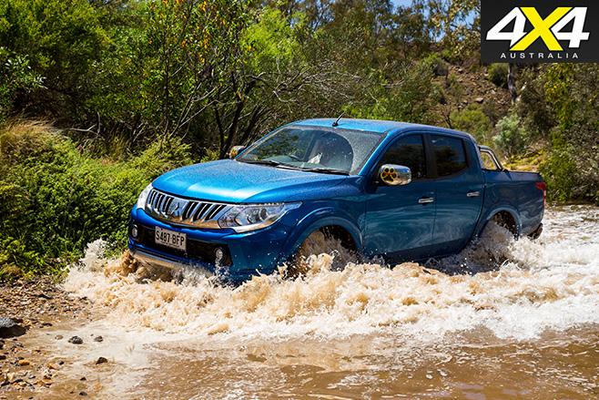 Mitsubishi Triton Exceed water