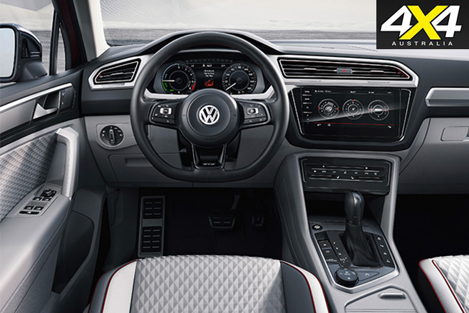 Vw tiguan active interior