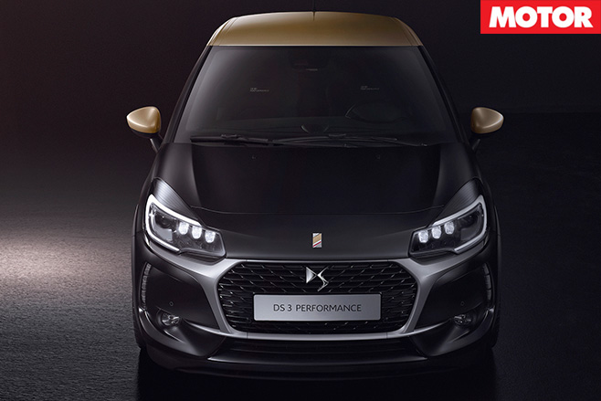 DS 3 performance front