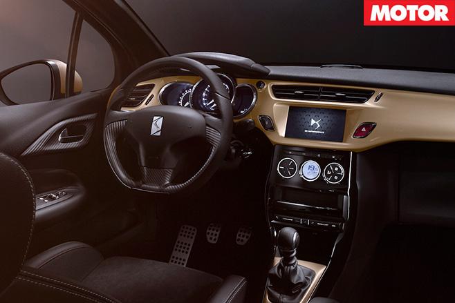 DS 3 performance interior