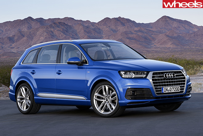 Audi -Q7-front -side
