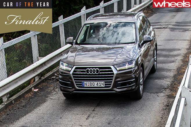 Audi -Q7-front -bridge