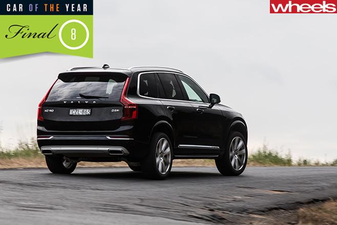 Volvo -XC90-rear