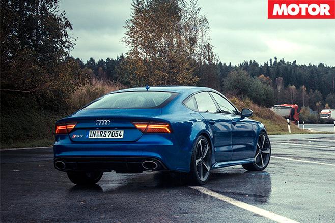 Audi still raining