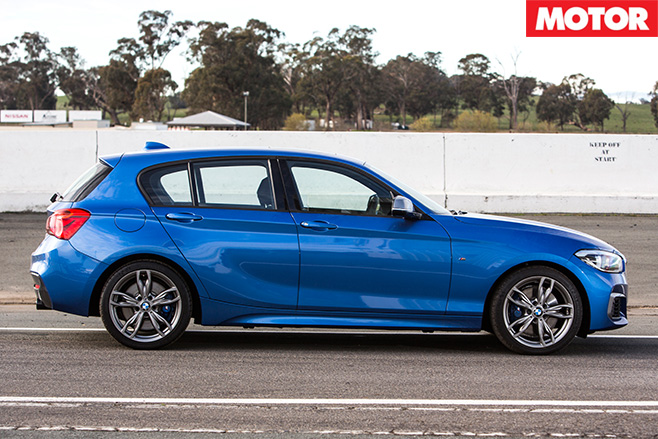 BMW M135i side
