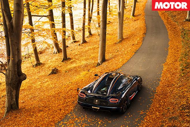 Koenigsegg Agera RS rear