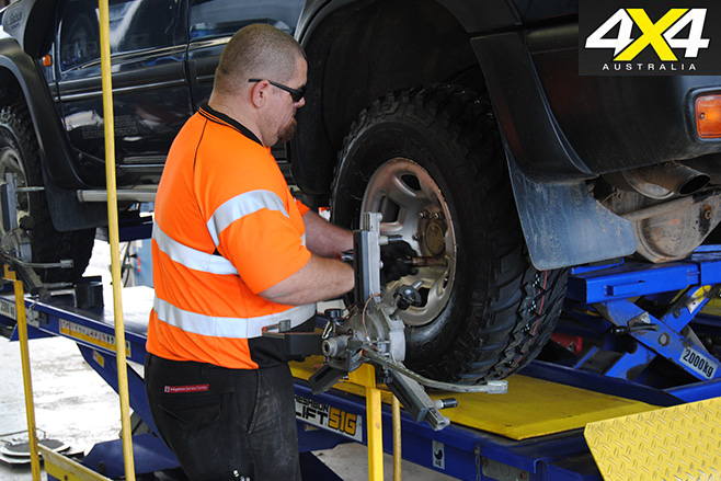 Fitting bridgestone tyres