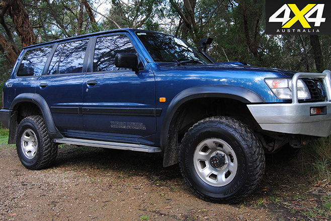 Bridgestone tyres on 4x4