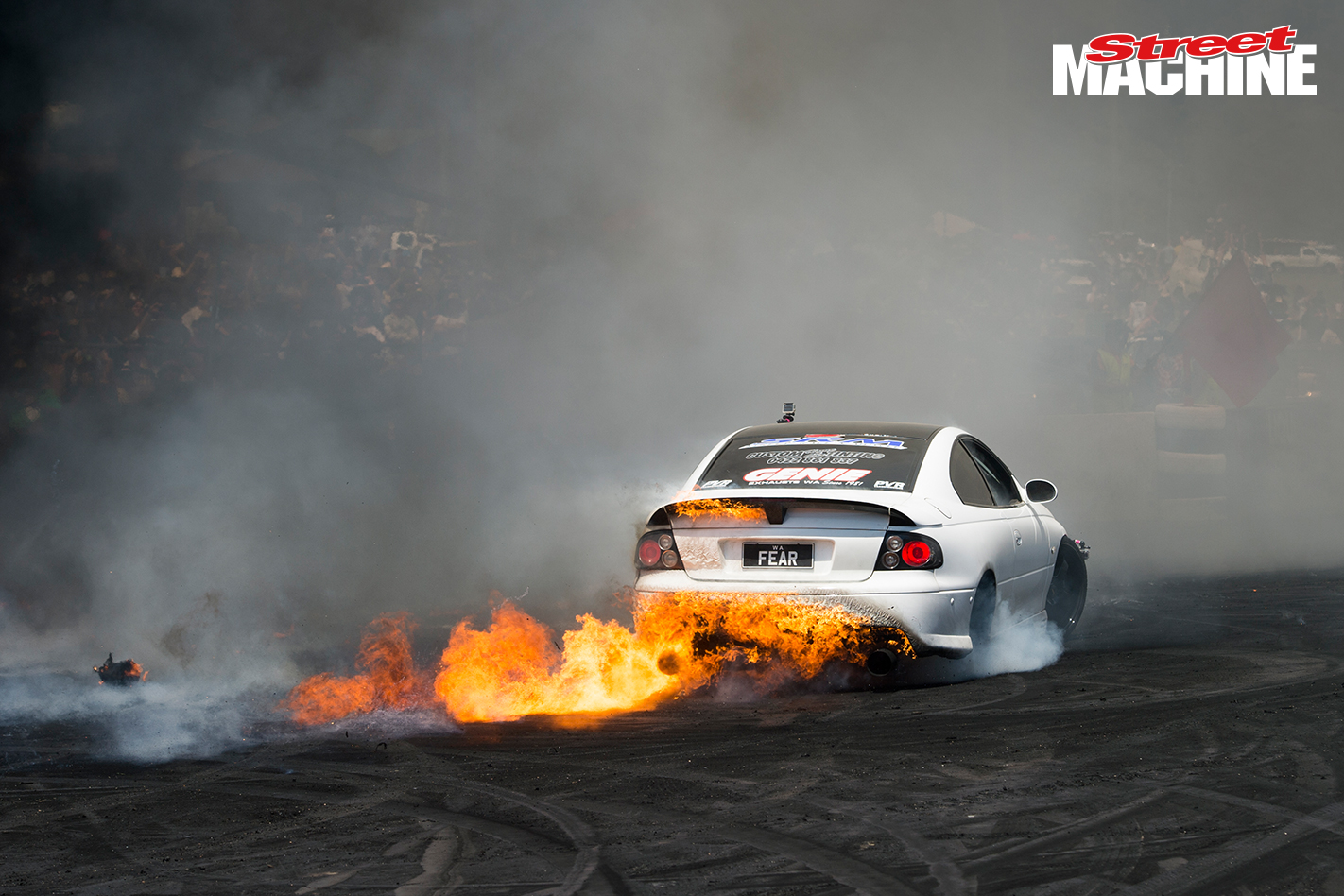 FEAR Burnout Fire Summernats
