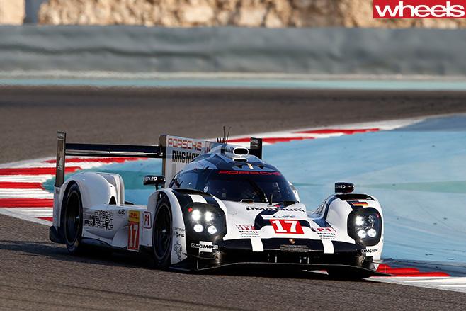 Mark -Webber -Porsche -Racecar