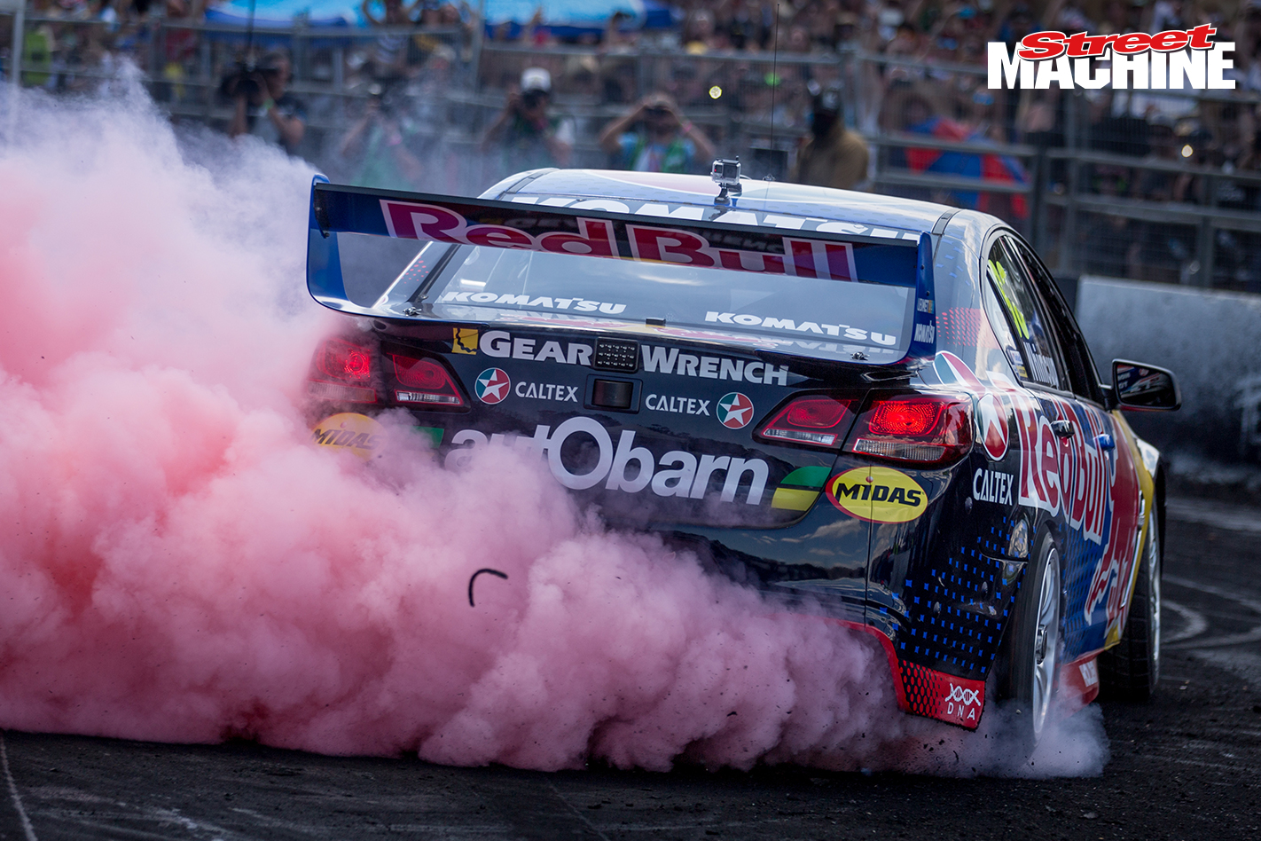 Redbull V8 Supercar Burnout 5 Nw