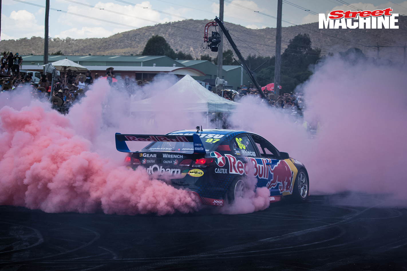 Redbull V8 Supercar Burnout 6 Nw