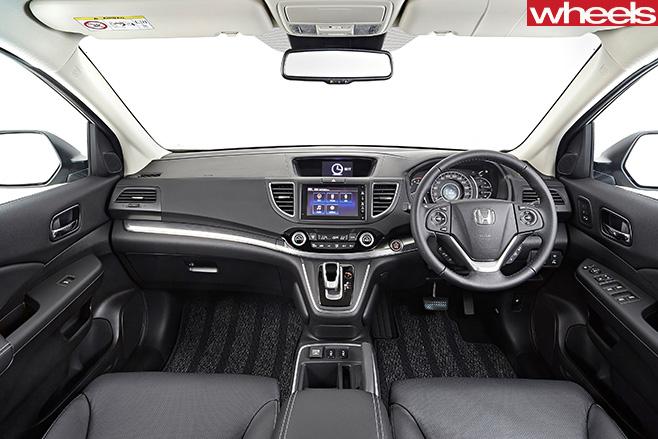 Honda CR-V SUV interior