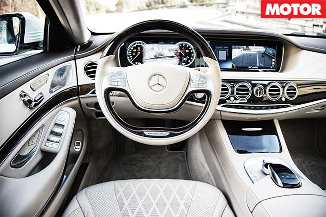 S600 interior