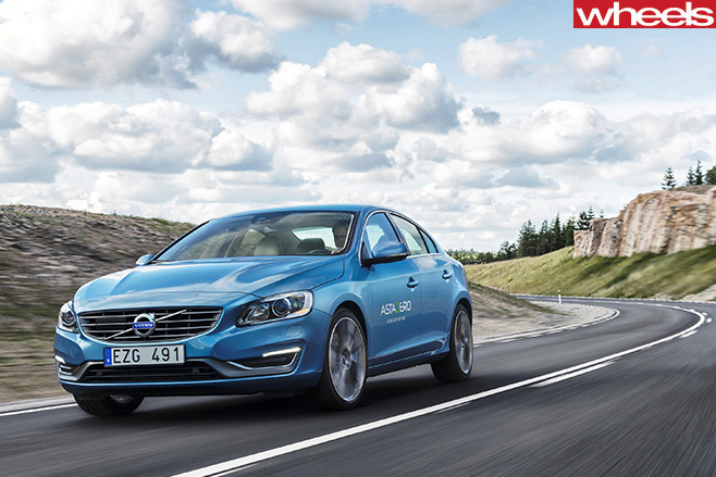 Volvo -Test -Facility -road -driving -following -lane -markings
