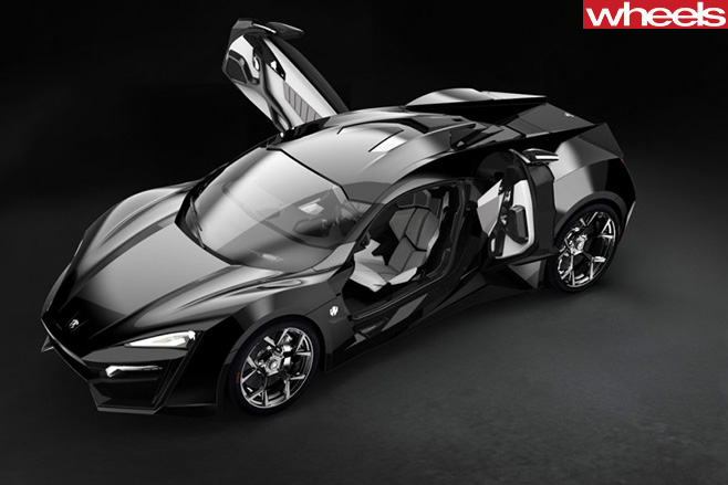 W-Motors -Lykan -Hypersport