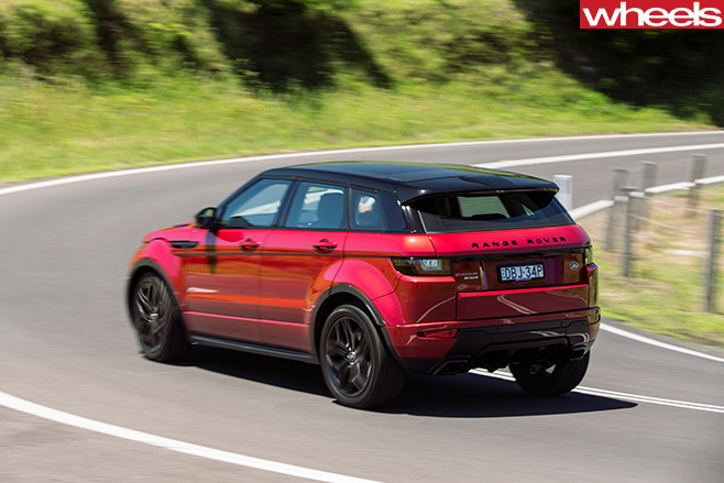 Range -Rover -Evoque -rear -side