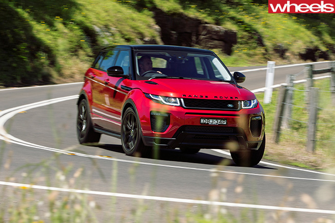 Range -Rover -Evoque -front -side