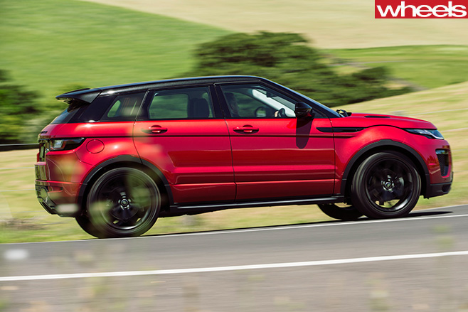 Range -Rover -Evoque -side