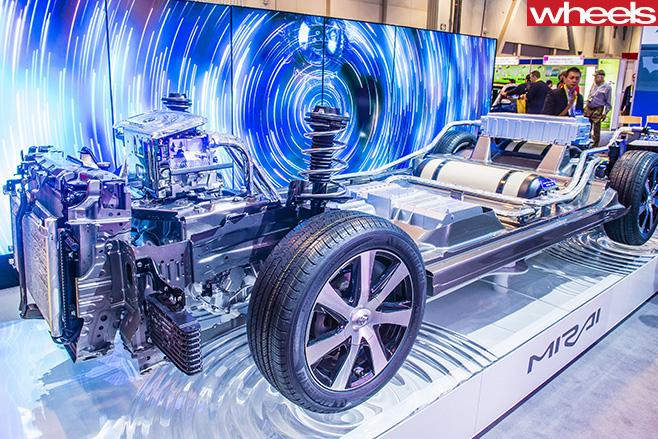 Hydrogen -Tank -Toyota -Mirai -Chassis