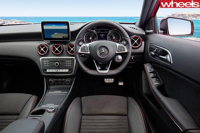 Mercedes -A250-Sport -interior