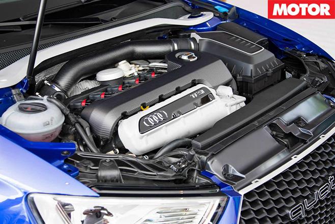 Audi a3 quattro concept engine