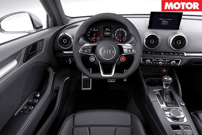 Audi a3 concept interior