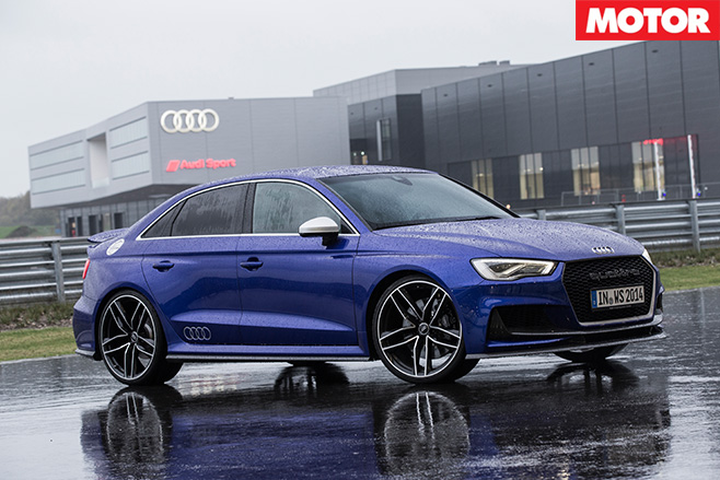 Audi A3 Clubsport Quattro Concept sitting