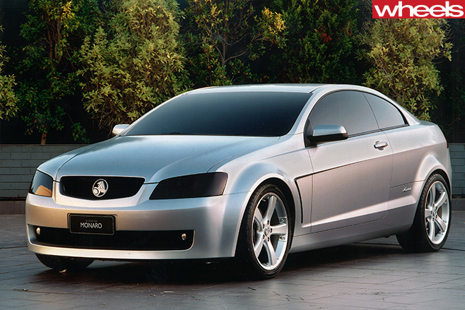 Holden -Monaro -concept -front