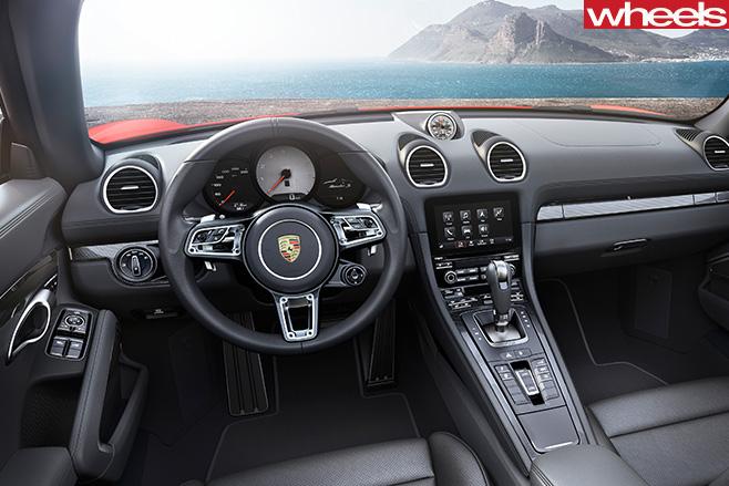 Grey -Porsche -Boxster -interior