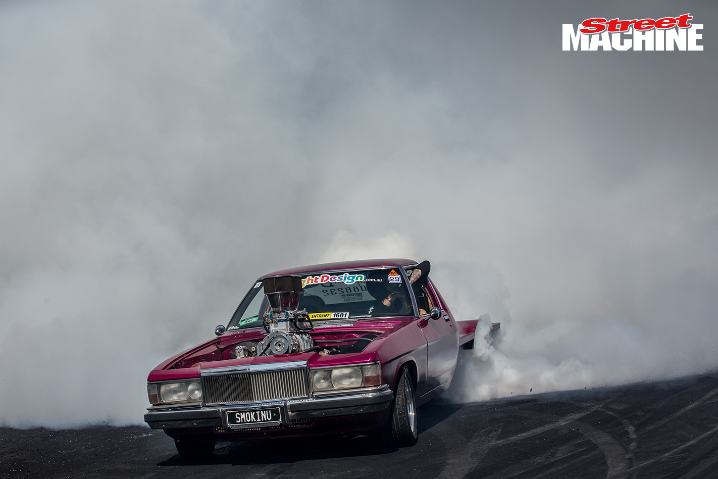 HZ One Tonner Burnout Summernats 3 Nw