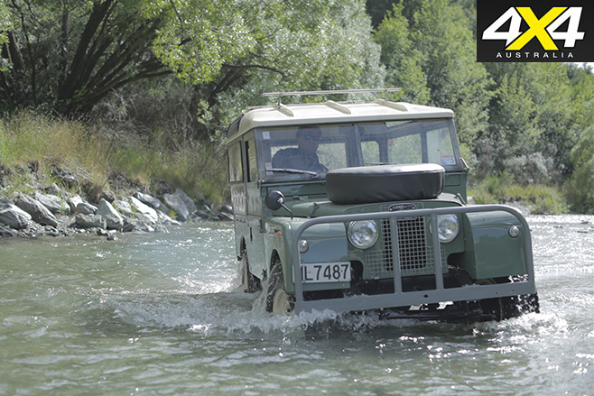 Land rover australia water