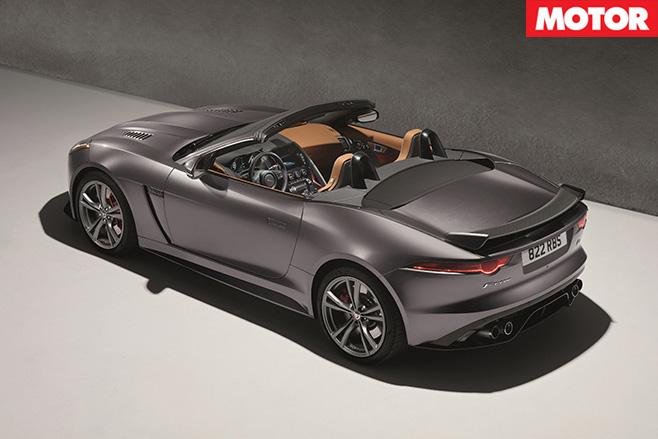 Jaguar F-Type SVR rear