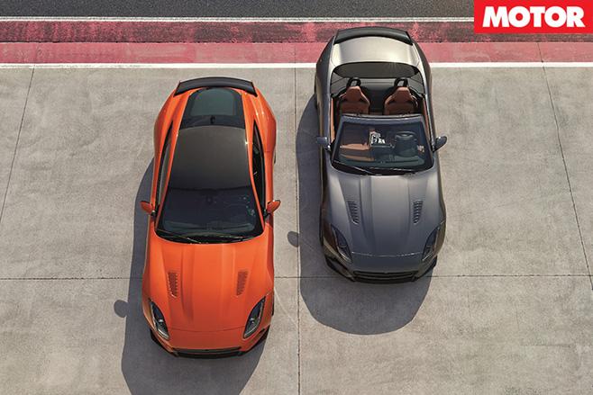 Jaguar F-Type SVR top
