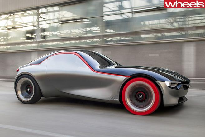 Opel -GT-side