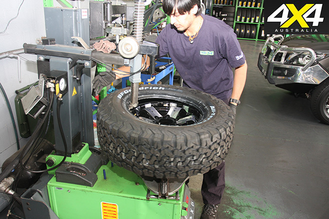 BF Goodrich all-terrain tyres