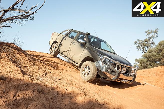 Mazda bt-50 long-termer part 1 downhill driving